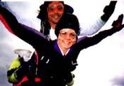 Tandem Jump! gift certificates for skydiving in virgjnia by maryland and washington dc too