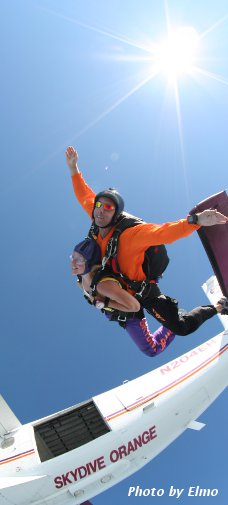 Tandem and AFF skydiving in Virginia, Maryland, and Washington, D.C.